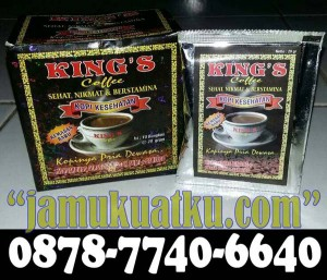 King's Coffe / Kopi Kings Per Kotak Isi 10 Saset
